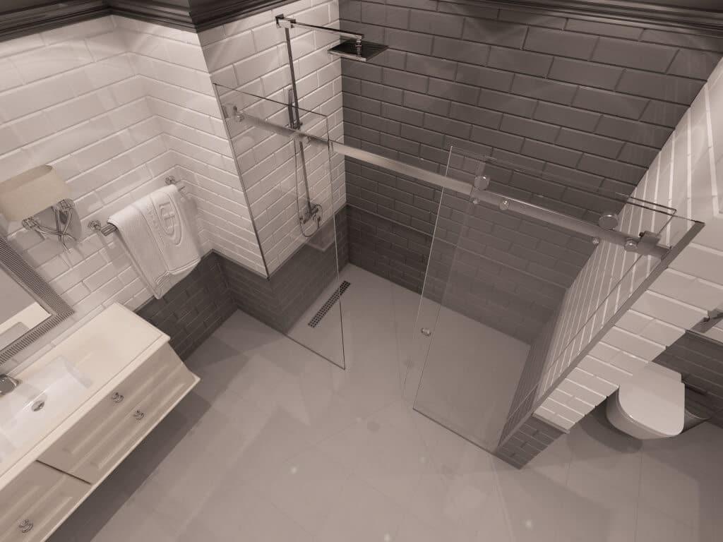 Параван за баня Sacramento